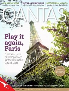 photo 229x300 Australian Jazz Musicians in Paris featured in the Qantas November in flight mag