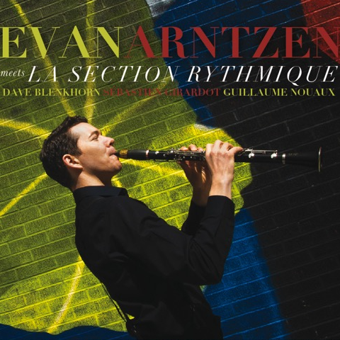 cd cover  Evan Arntzen meets la Section Rythmique